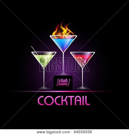 Cocktail Background