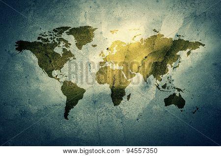 Grunge map