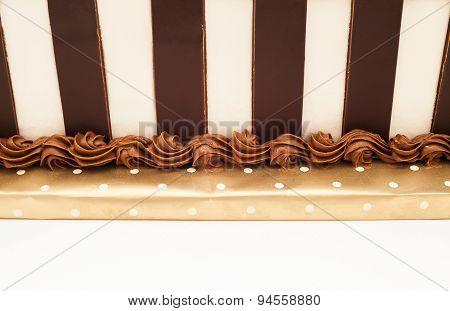 Chocolate Cake Background