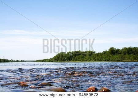 Great Siberian river