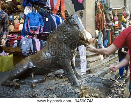 Florence, Bronze Boar.