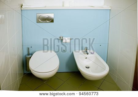 Equipment Of The Toilet Room