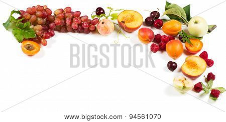 Organic Summer Fruits And Berries