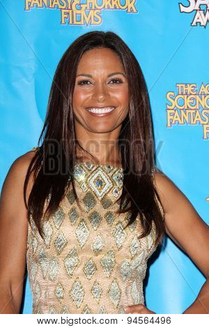 LOS ANGELES - JUN 25:  Salli Richardson-Whitfield at the 41st Annual Saturn Awards Press Room at the The Castaways on June 25, 2015 in Burbank, CA