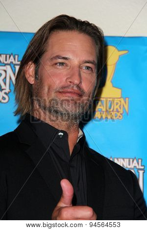 LOS ANGELES - JUN 25:  Josh Holloway at the 41st Annual Saturn Awards Press Room at the The Castaways on June 25, 2015 in Burbank, CA