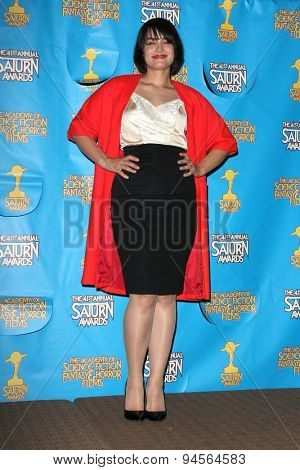 LOS ANGELES - JUN 25:  Shannyn Sossamon at the 41st Annual Saturn Awards Press Room at the The Castaways on June 25, 2015 in Burbank, CA