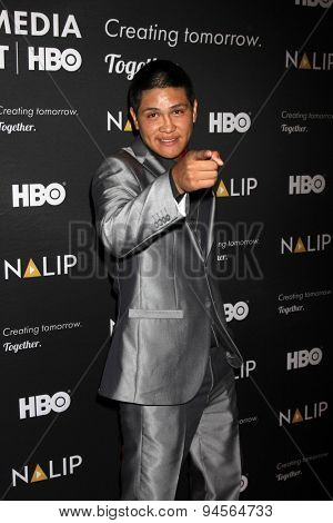 LOS ANGELES - JUN 27:  Johnny Ortiz at the NALIP 16th Annual Latino Media Awards at the W Hollywood on June 27, 2015 in Los Angeles, CA