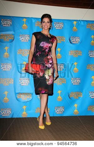 LOS ANGELES - JUN 25:  Tricia Helfer at the 41st Annual Saturn Awards Press Room at the The Castaways on June 25, 2015 in Burbank, CA