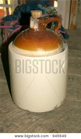 Old Moonshine Jug