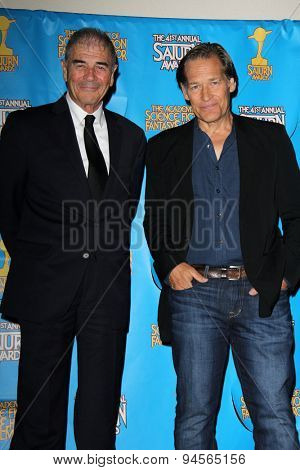 LOS ANGELES - JUN 25:  Robert Forster, James Remar at the 41st Annual Saturn Awards Press Room at the The Castaways on June 25, 2015 in Burbank, CA
