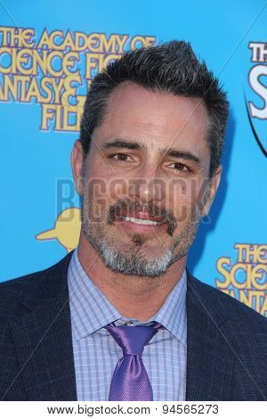 LOS ANGELES - JUN 25:  Victor H. Webster at the 41st Annual Saturn Awards Arrivals at the The Castaways on June 25, 2015 in Burbank, CA