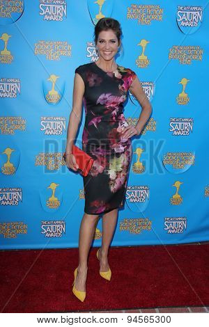 LOS ANGELES - JUN 25:  Tricia Helfer at the 41st Annual Saturn Awards Arrivals at the The Castaways on June 25, 2015 in Burbank, CA