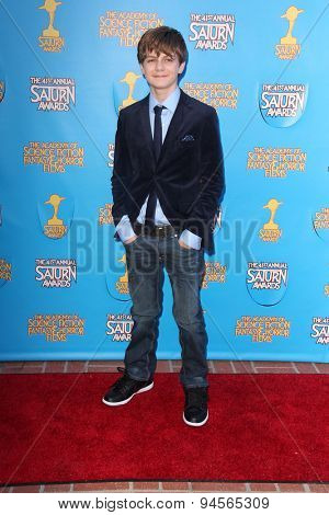 LOS ANGELES - JUN 25:  Ty Simpkins at the 41st Annual Saturn Awards Arrivals at the The Castaways on June 25, 2015 in Burbank, CA
