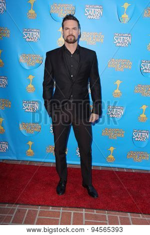 LOS ANGELES - JUN 25:  Shane West at the 41st Annual Saturn Awards Arrivals at the The Castaways on June 25, 2015 in Burbank, CA