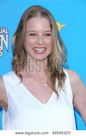 LOS ANGELES - JUN 25:  Rachel Nichols at the 41st Annual Saturn Awards Arrivals at the The Castaways on June 25, 2015 in Burbank, CA