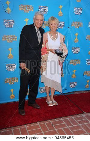 LOS ANGELES - JUN 25:  David Selby at the 41st Annual Saturn Awards Arrivals at the The Castaways on June 25, 2015 in Burbank, CA