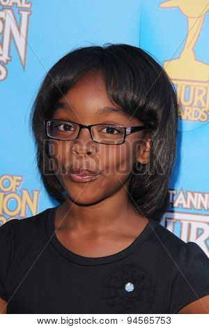 LOS ANGELES - JUN 25:  Marsai Martin at the 41st Annual Saturn Awards Arrivals at the The Castaways on June 25, 2015 in Burbank, CA