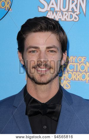 LOS ANGELES - JUN 25:  Grant Gustin at the 41st Annual Saturn Awards Arrivals at the The Castaways on June 25, 2015 in Burbank, CA