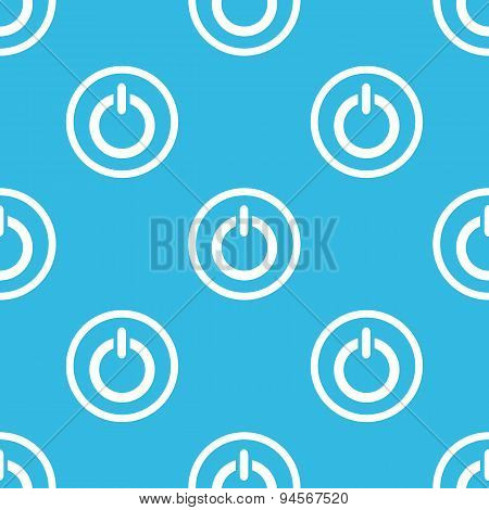 Power sign blue pattern