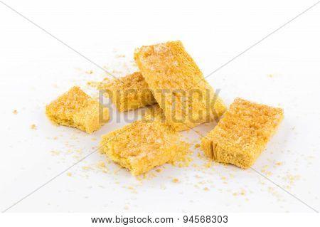 Crispy Bread With Sugar