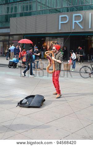 Street Musician in Berlin