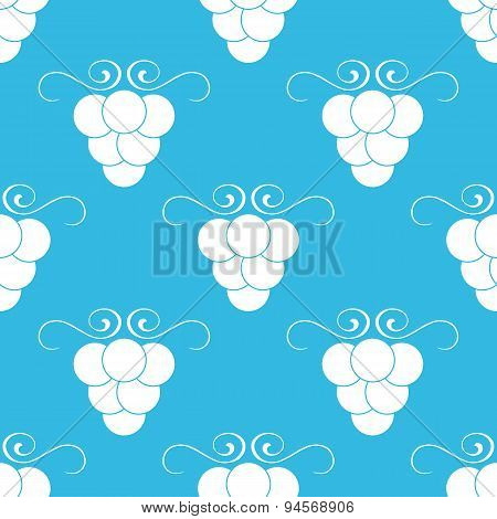 Grape blue pattern