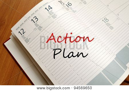 Action Plan Concept Notepad
