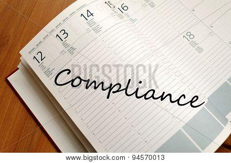 Compliance Text Concept