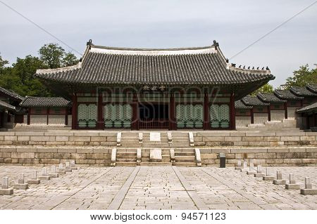 Gyeonghuigung Palace In Seoul, South Korea