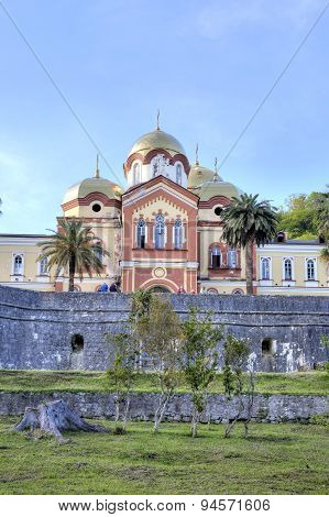 Abkhazia. New Athos Simon The Zealot Monastery