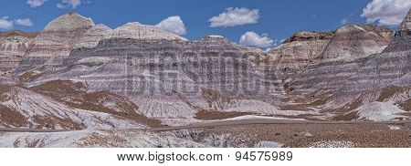 Blue Mesa At The Petrified Forest National Park