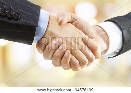 Human Handshake