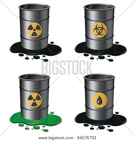 Set Of Barrels.