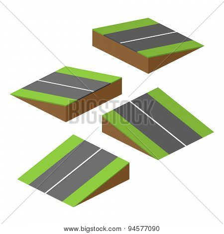 Vector Road Bricks