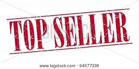 Top Seller Red Grunge Vintage Stamp Isolated On White Background