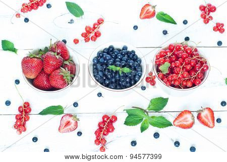 Bawls With Different Berries