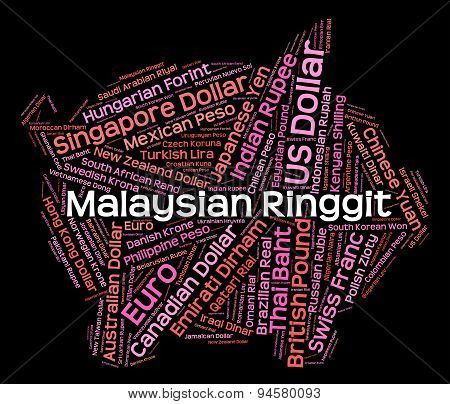 Malaysian Ringgit Means Exchange Rate And Foreign