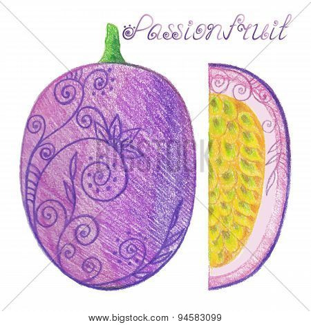 Sketchy Passionfruit