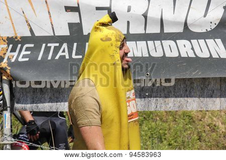 Man Dressed As A Banana