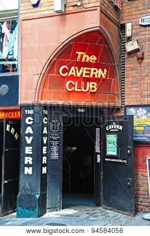 The Cavern Club, Liverpool.