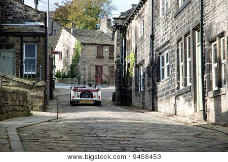 Picturesque Yorkshire village of Heptonstall