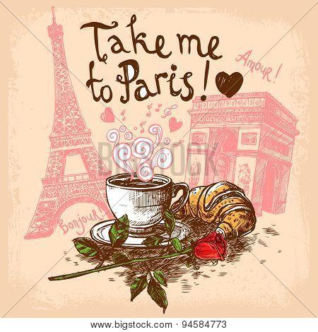 Take me to paris concept