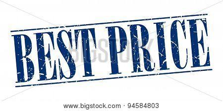 Best Price Blue Grunge Vintage Stamp Isolated On White Background