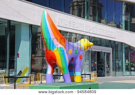 Museum of Liverpool and Superlambana.