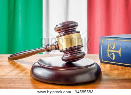 A Gavel And A Law Book - Italy
