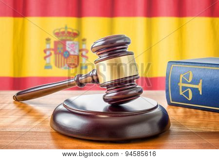 A Gavel And A Law Book - Spain