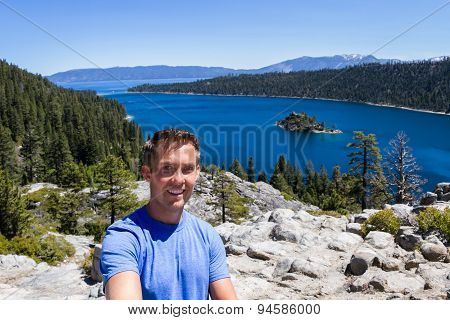 Selfie In Emerald Bay
