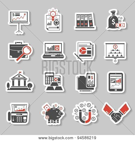 Finance Sticker Set