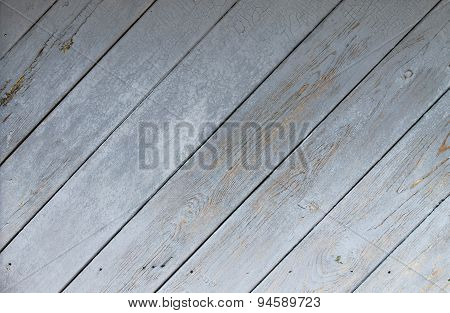 Background Of Narrow Planks Painted