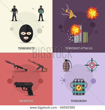 Terrorism Flat Set